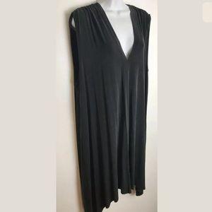 Anthropologie Dresses - Anthro ERI + ALI Briella Tunic Dress Black vneck